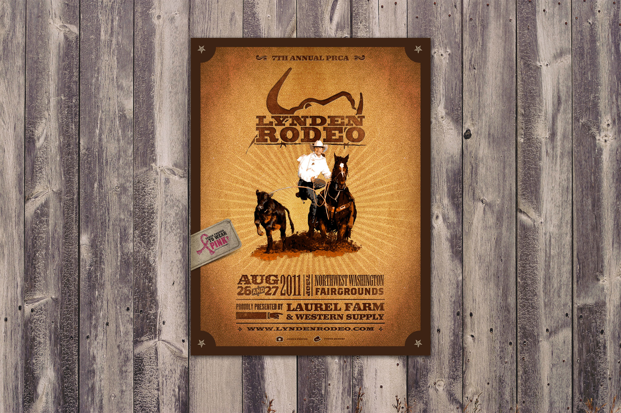Lynden Rodeo Poster - 2011