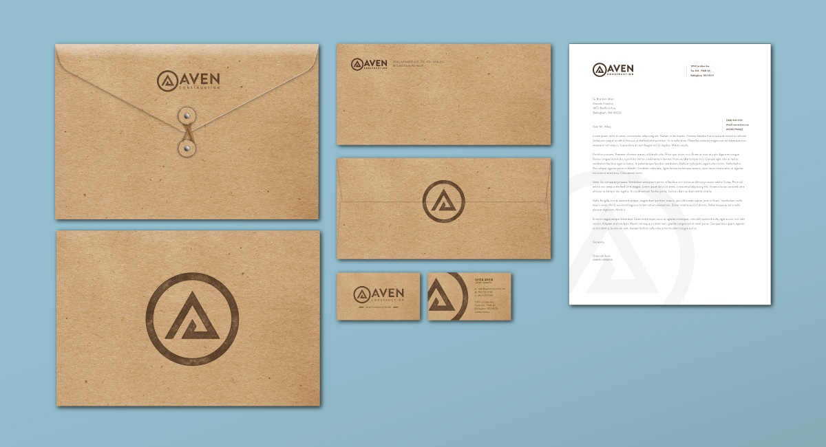 Aven Construction - Business Collateral