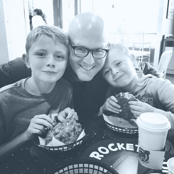 Decode Creative - Brandon Allen - Bellingham Seattle Designer - with kids