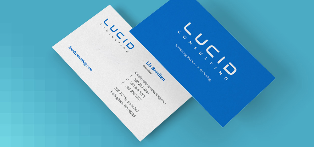 Lucid Consulting - Business Cards