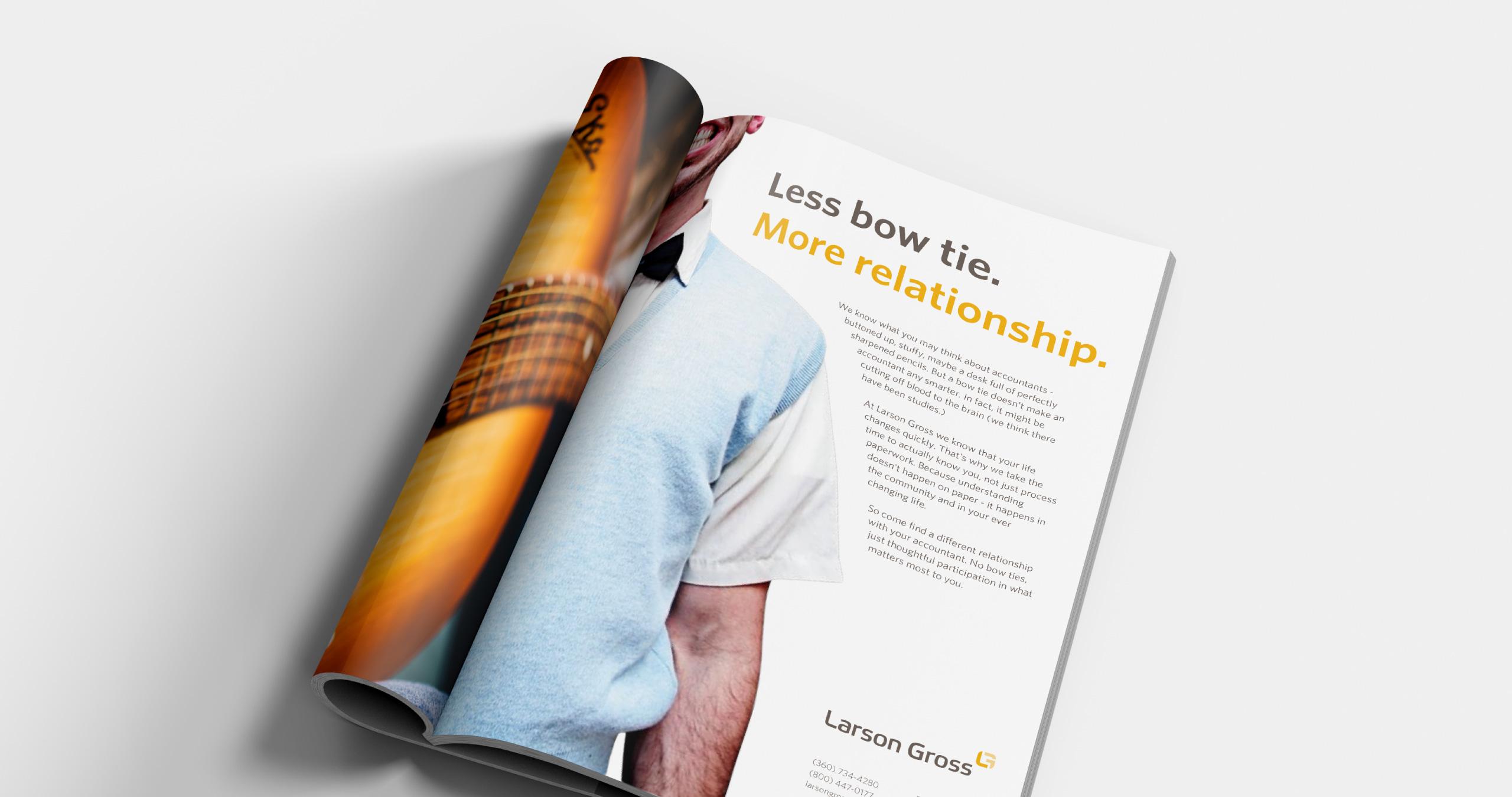 Larson Gross - Magazine Ad