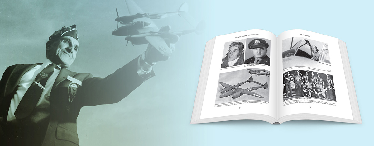 Joe Moser - A Fighter Pilot In Buchenwald - Image Layout
