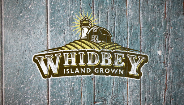 Whidbey Island Grown - Logo Design - Poster Design - Collateral