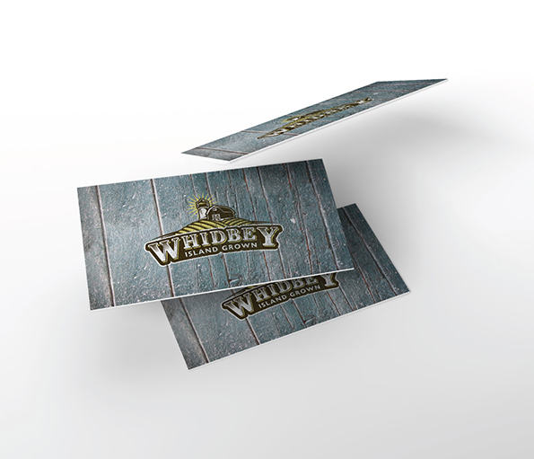 Whidbey Island Grown - Business Cards