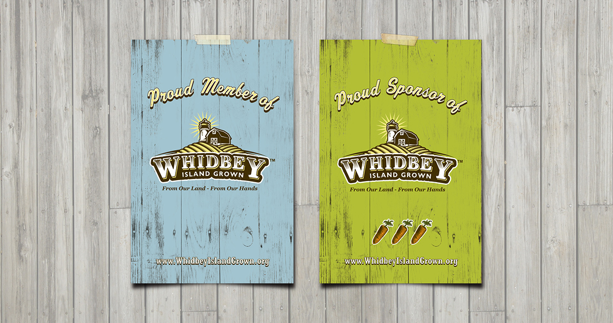 Whidbey Island Grown - Poster
